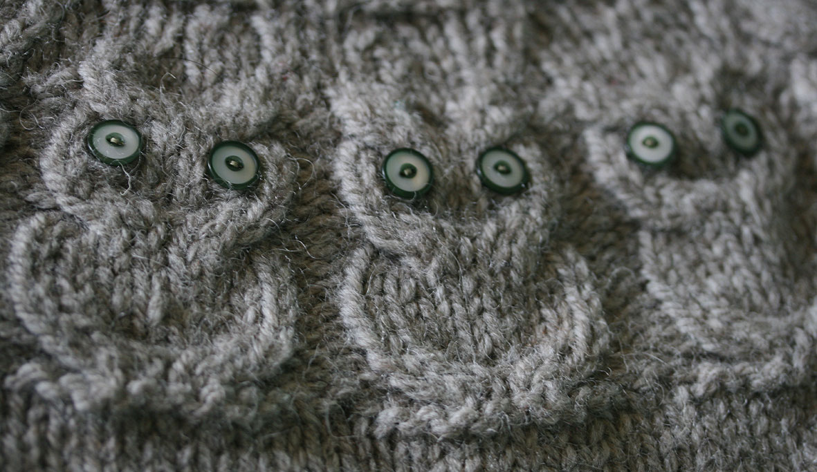 Free Knitting Pattern For Owl Sweater : o w l s. the pattern.   Kate Davies Designs