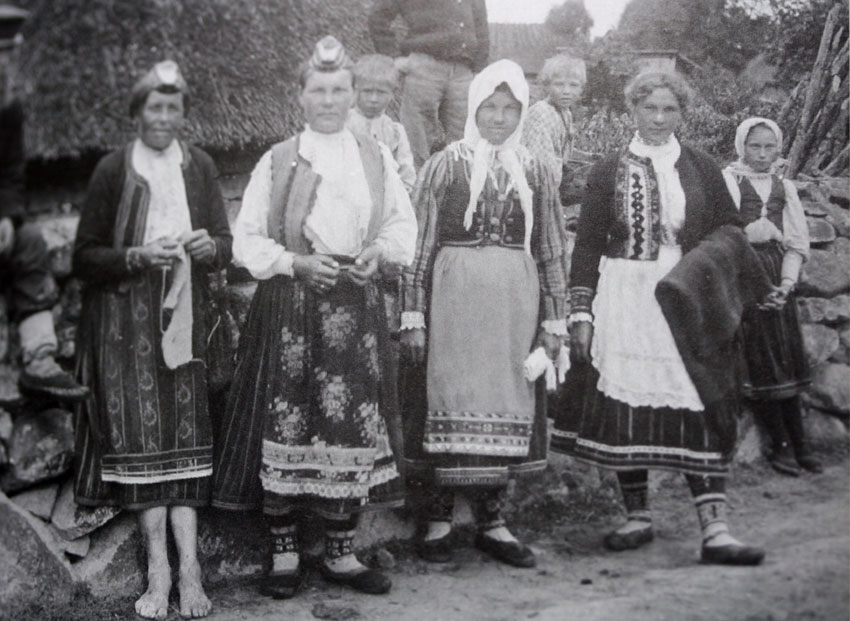 Knitting History And Culture : Estonian colour knitting kate davies designs