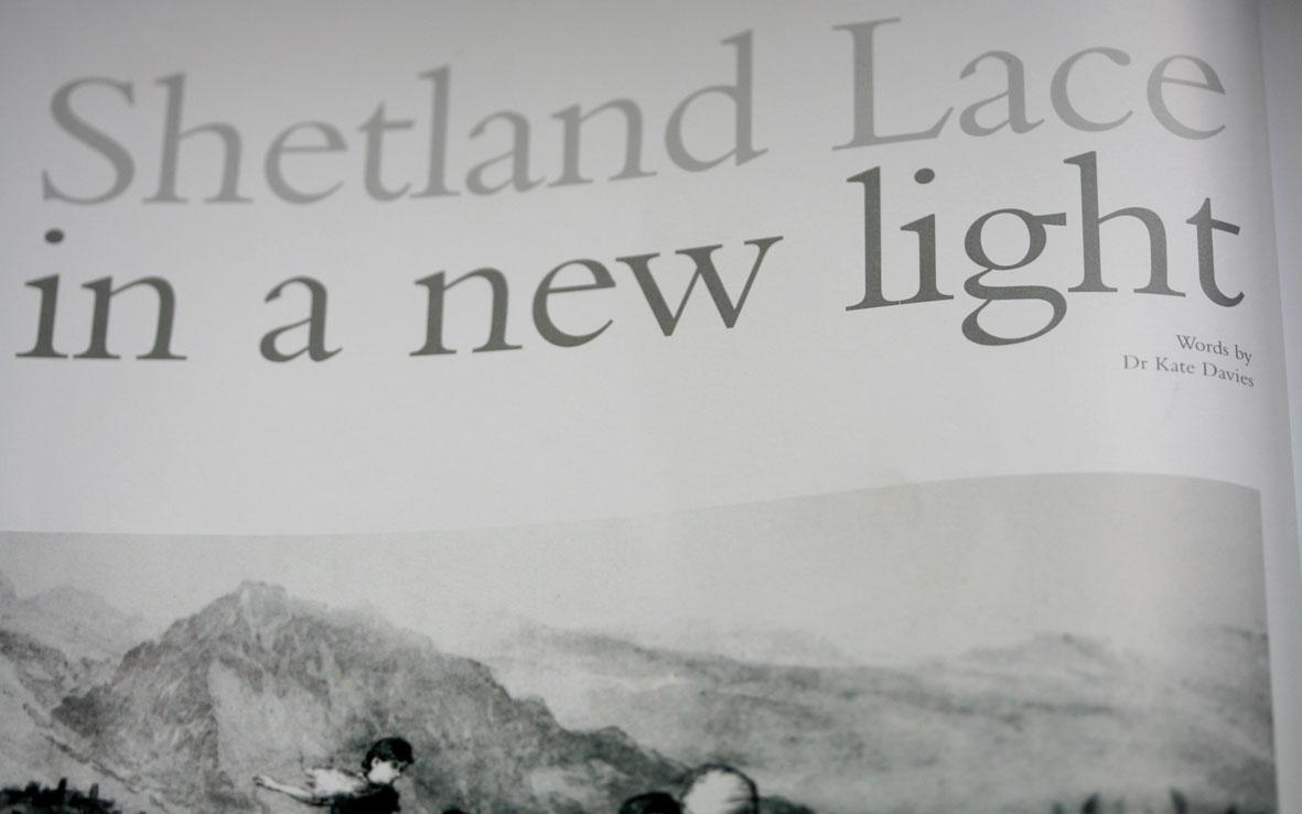 shetland lace – Kate Davies Designs