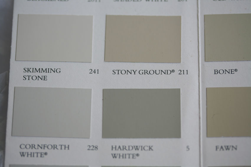 Podtabulous Kate Davies Designs: farrow and ball skimming stone living room