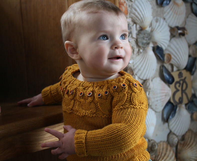 Free Knitting Pattern For Owl Sweater : owlet   Kate Davies Designs