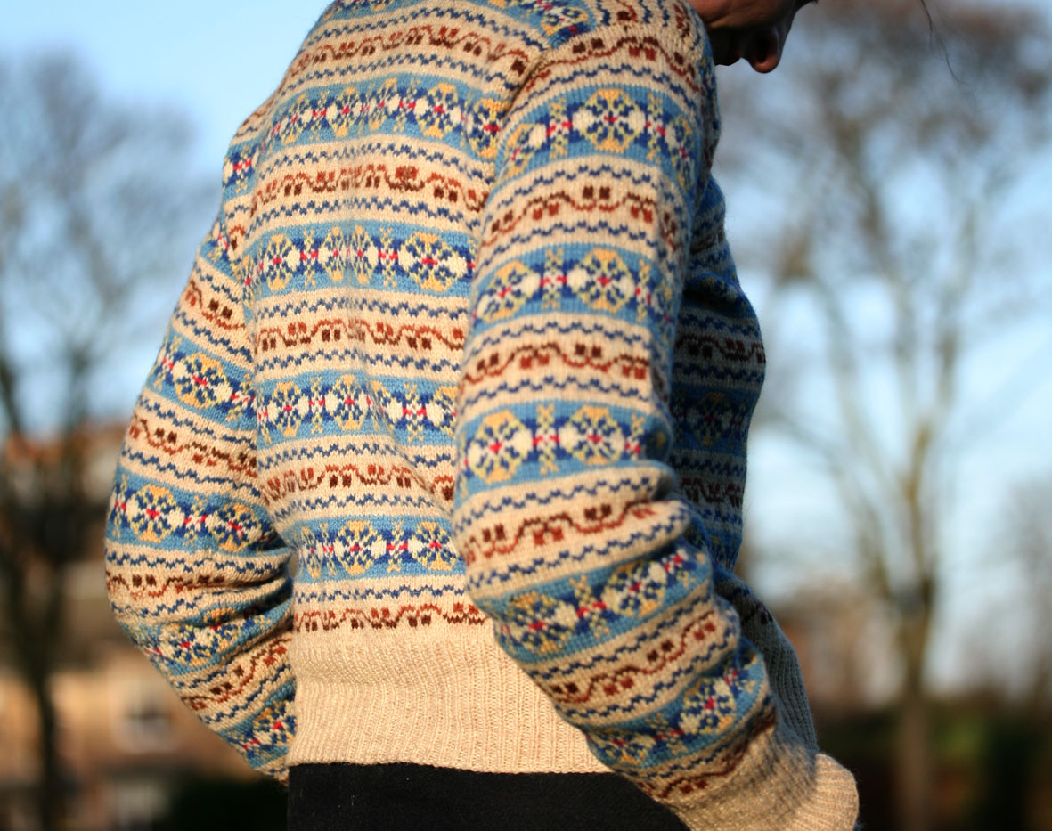Collection of Authentic Fair Isle Sweater - Best Fashion Trends ...