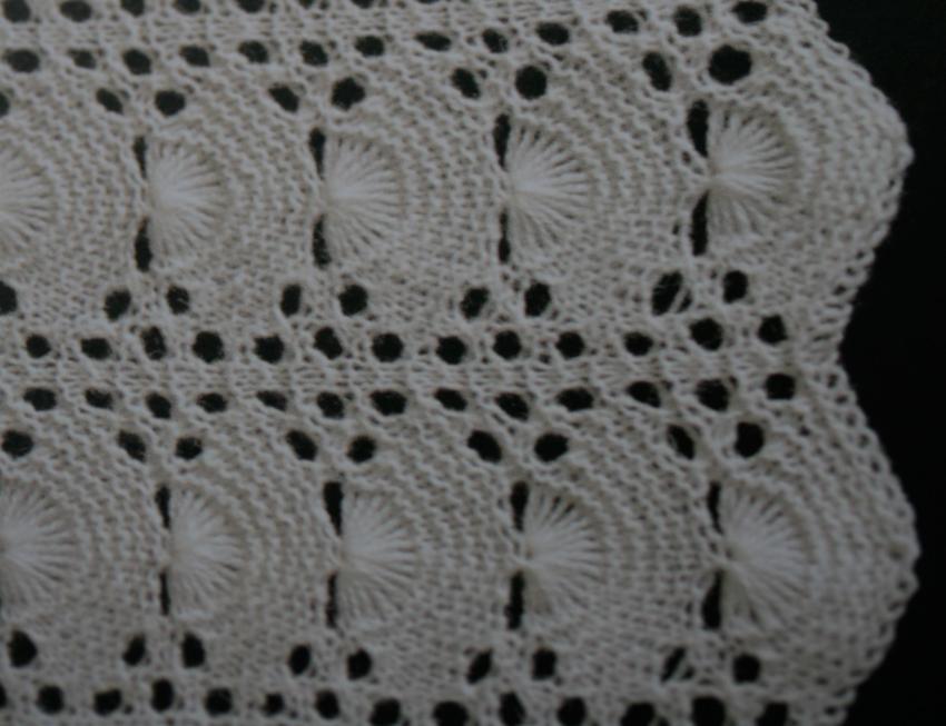 shetland lace knitting patterns