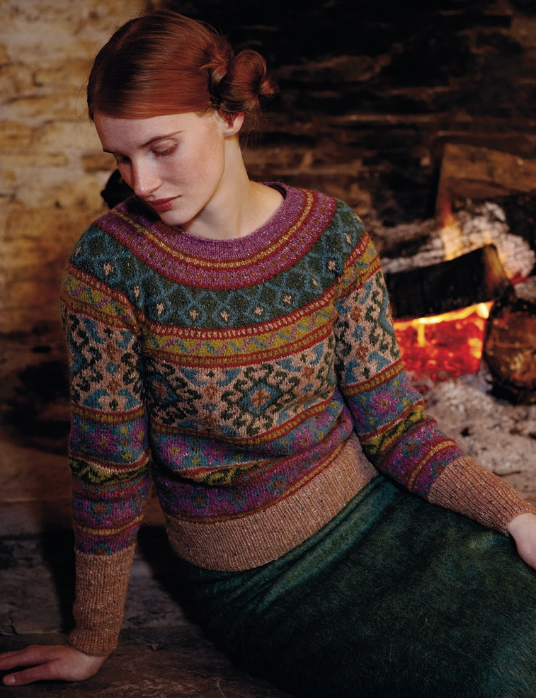 Free Rowan Knitting Patterns : steeks and swants   Kate Davies Designs