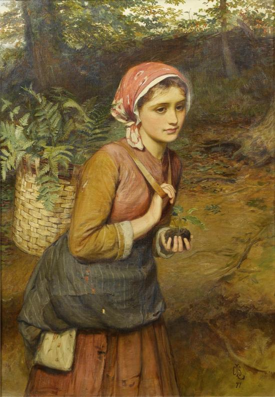Charles_Sillem_Lidderdale_The_fern_gatherer_1877
