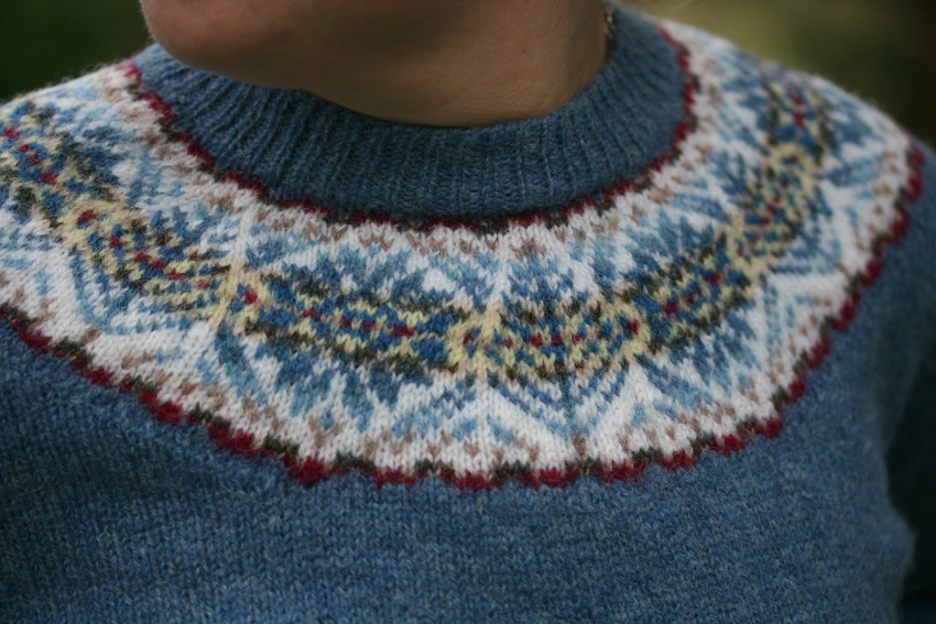 Mens Fair Isle Sweater Knitting Patterns : three sweaters   Kate Davies Designs