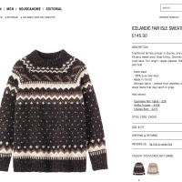 knitwear and cultural relativism