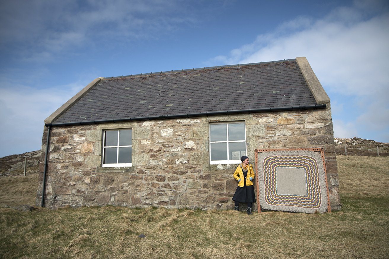 As You Know, I Photographed My Moder Dy Design On A Beautiful Vintage Hap  Stretcher That I Borrowed From My Friend Anne Eunson. In Shetland, Such  Stretchers ...