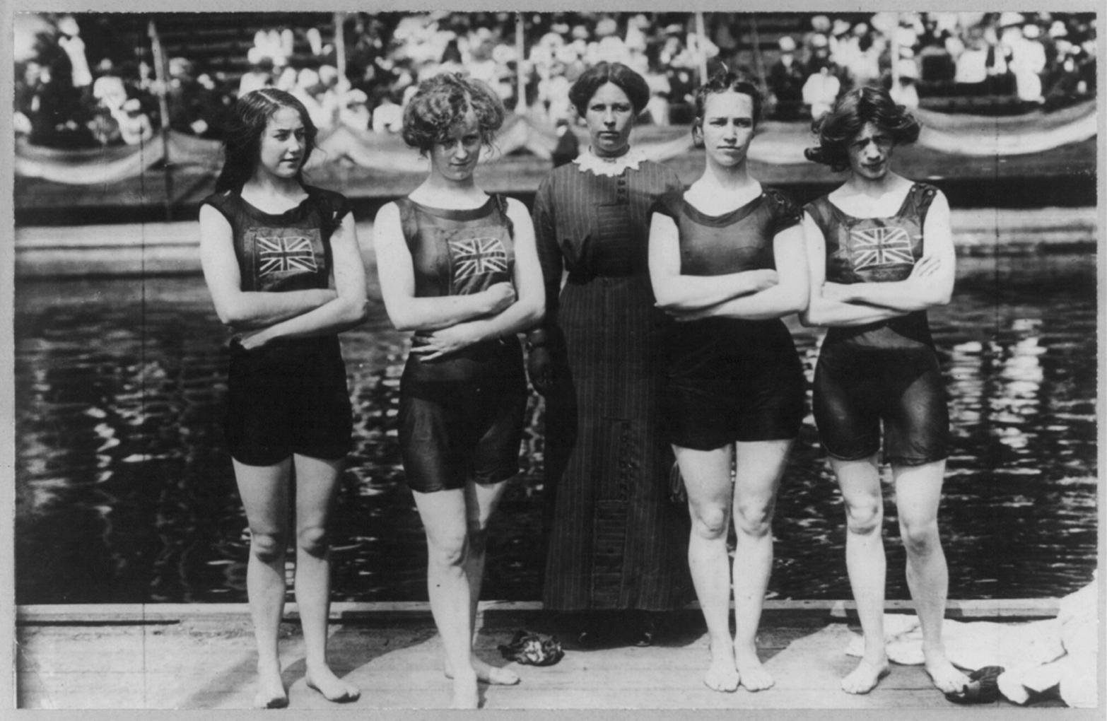 britishswimmingteam1912
