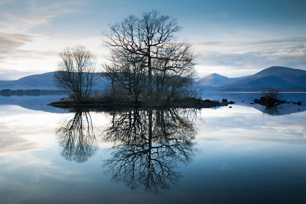 loch-lomond-reflected-trees