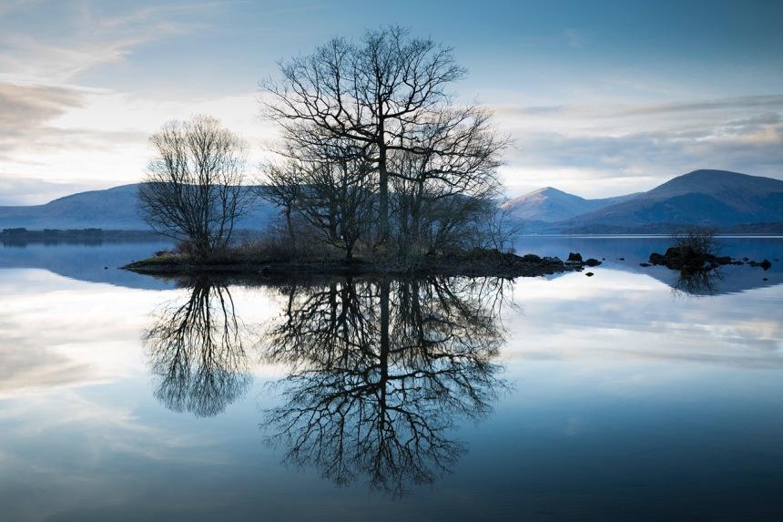 loch-lomond-reflected-trees
