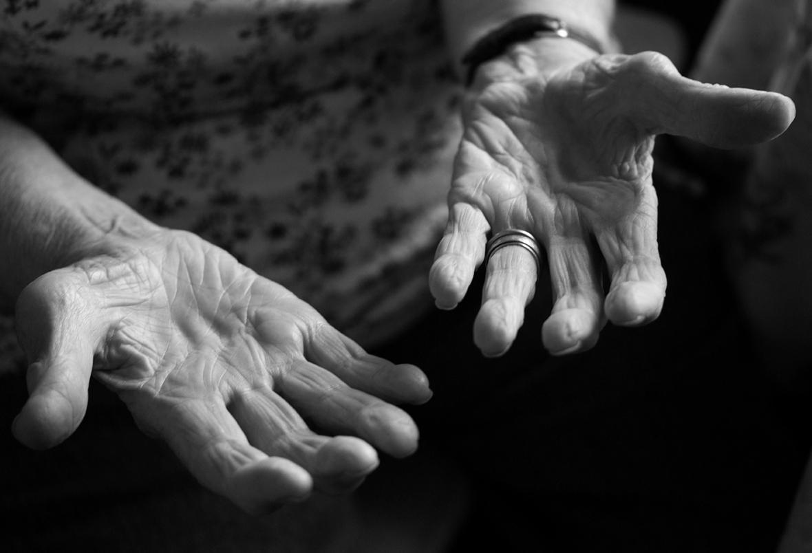 Emma's hands