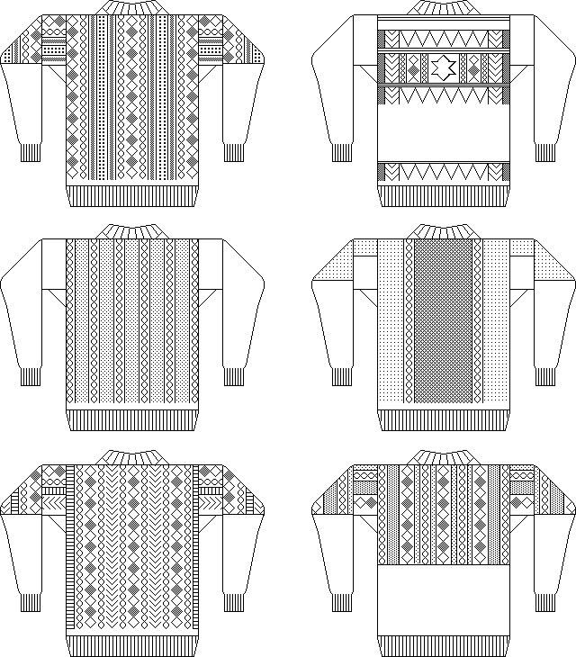 gansey-patterns