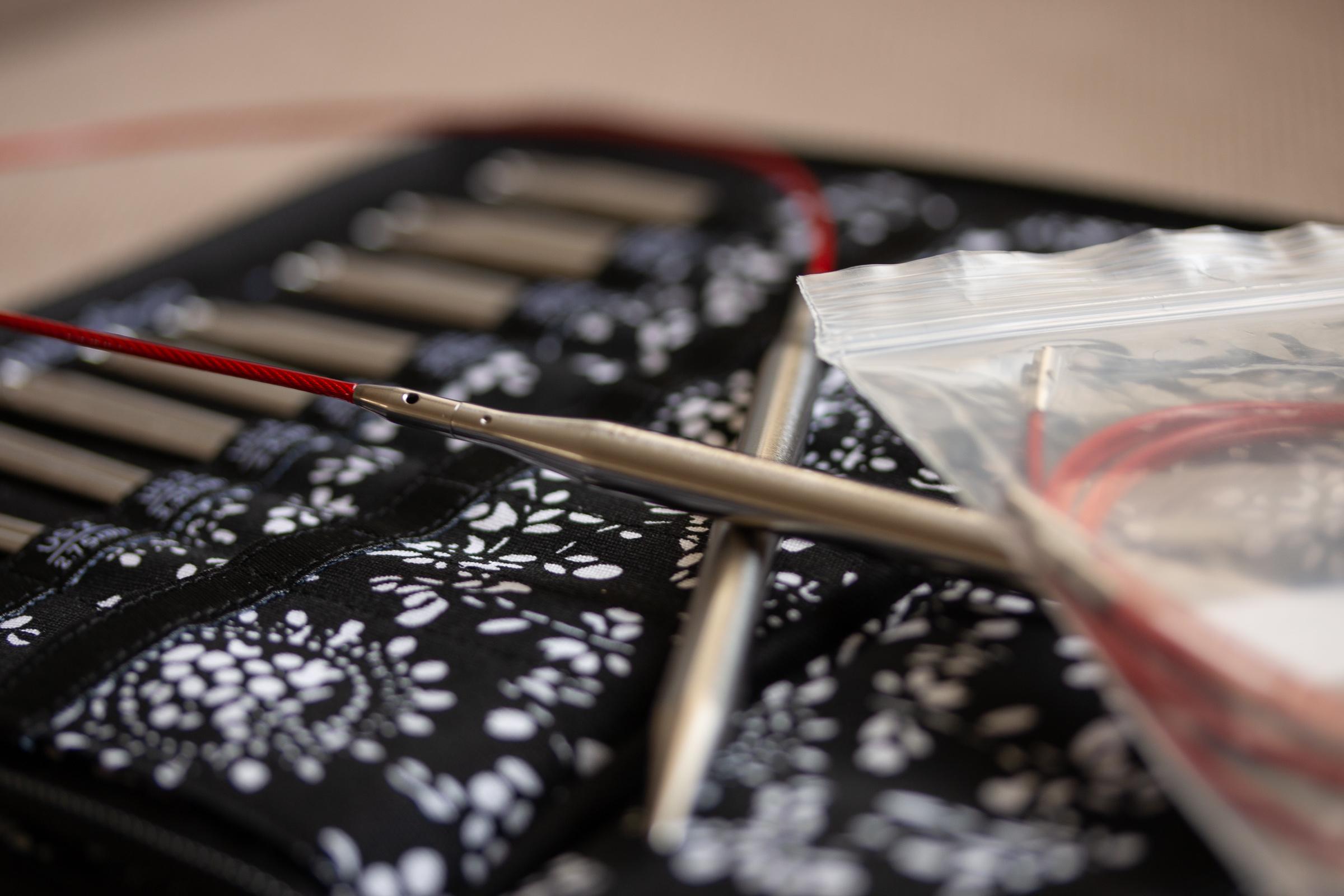 Chiaogoo Twist Interchangeable Knitting Needles Stainless Steel