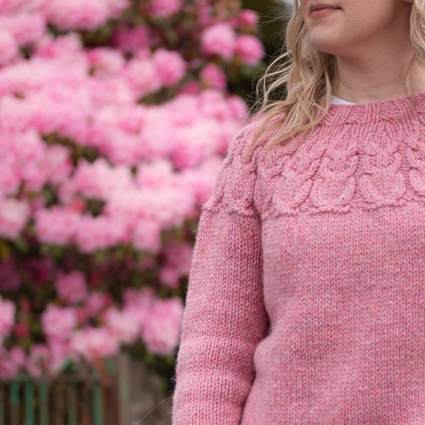 OWLS-Sweater-Kate-Davies-Designs-Pink-Blossom-Handknit-Pattern-9