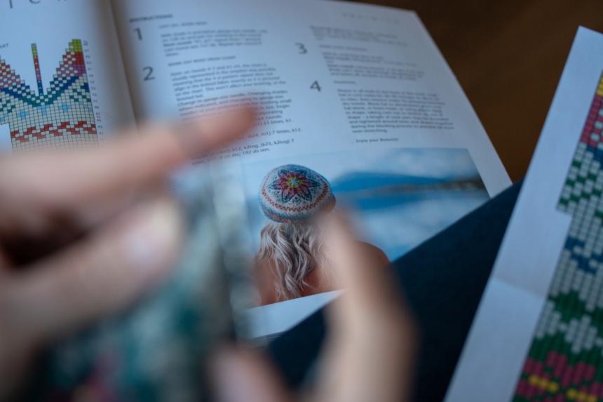 Colourwork Knitting Hat Breiwick 2 2019