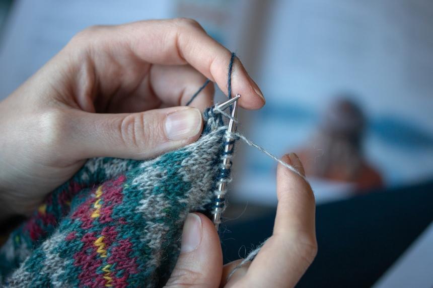 Colourwork Knitting Hat Breiwick 3 2019