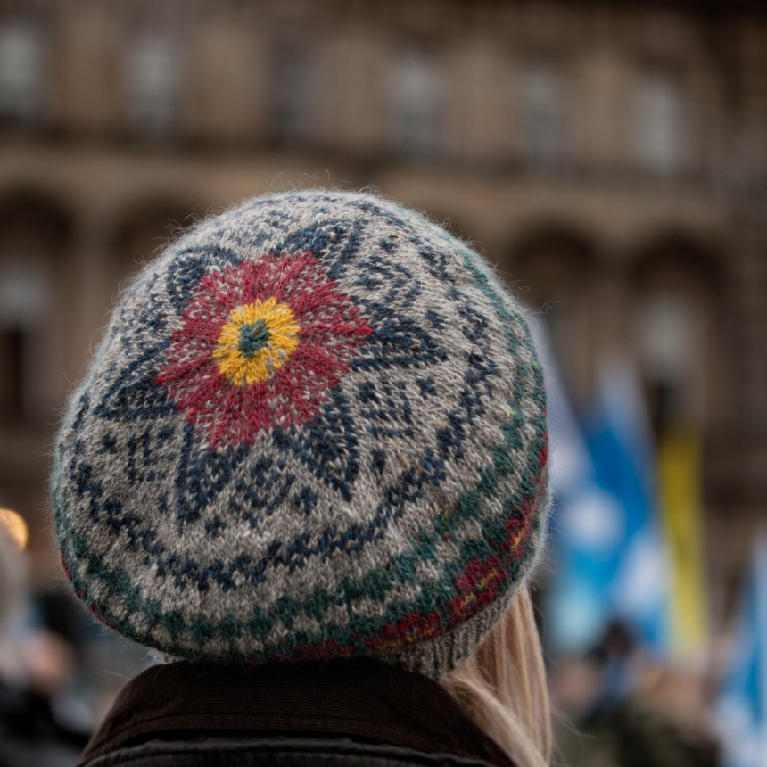Colourwork Knitting Hat Breiwick 3 Glasgow 2019